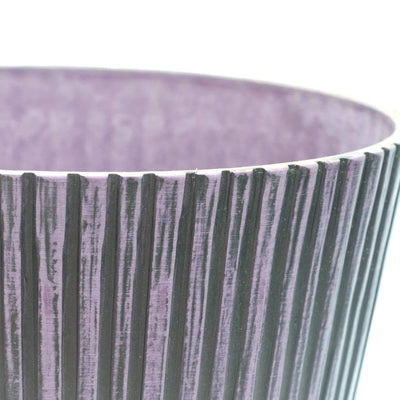 Polystone Pot - Purple