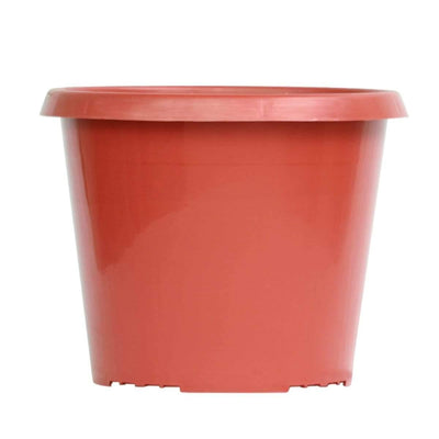 Brown Plastic Pot for Plants