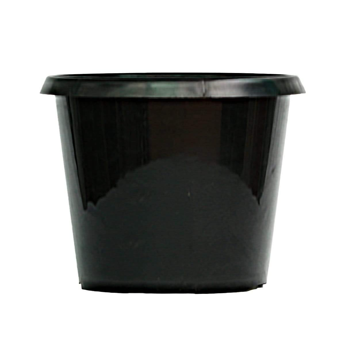 Black Plastic Pot for Plants