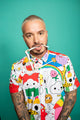 J Balvin x Friends With You Color Shirt