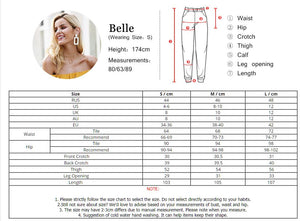 Skinny high waist pants - Blue Belle Alley