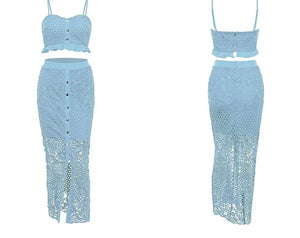 Ariana Two Piece - Blue Belle Alley