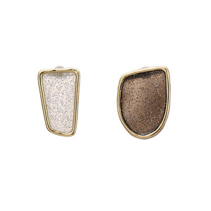 Enamel Stud Earrings - Blue Belle Alley