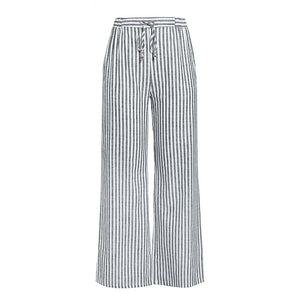 Mono stripe vintage look pants - Blue Belle Alley