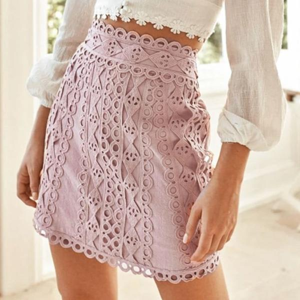 Lacey Skirt - Blue Belle Alley