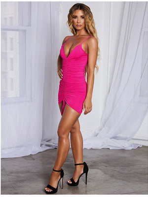 Baby Pink Party Dress