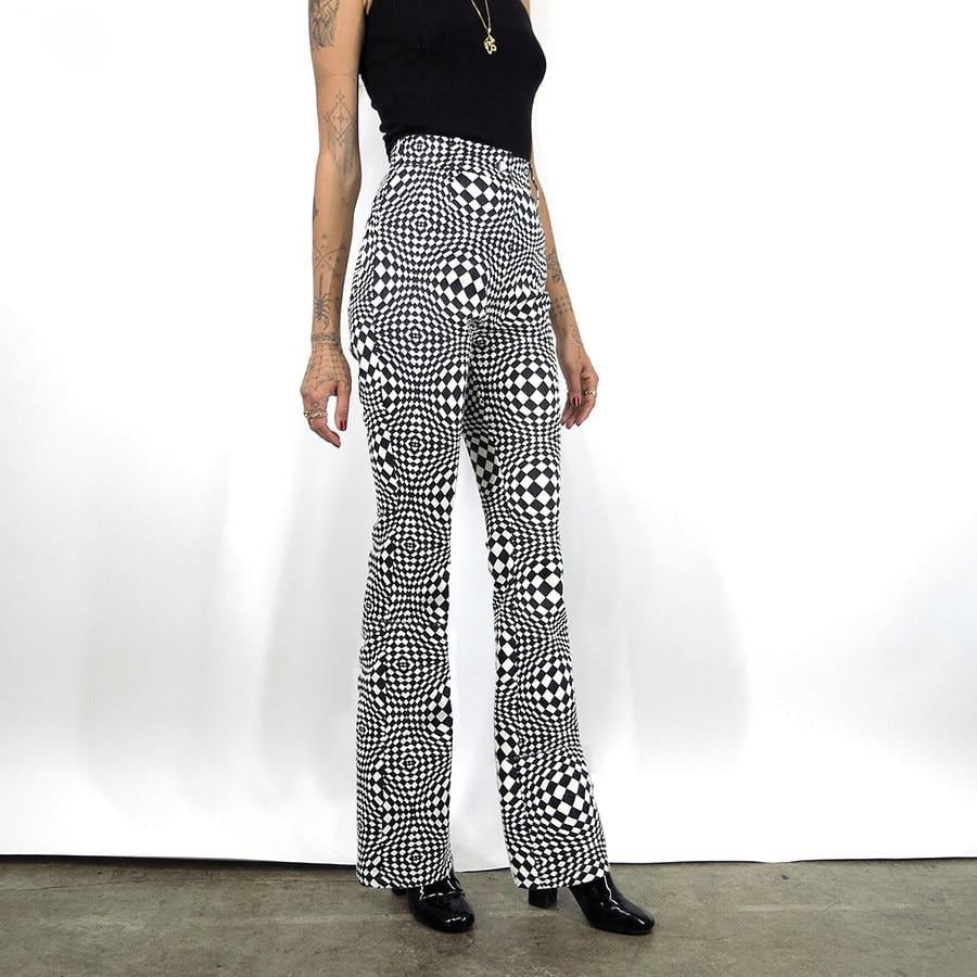 Retro style slim pants - Blue Belle Alley