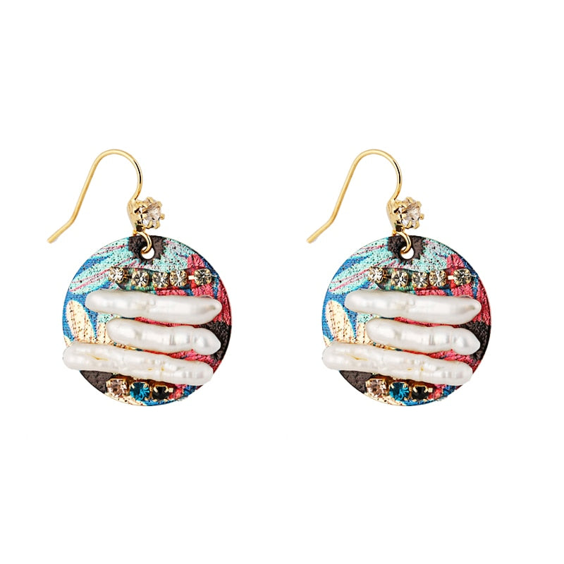 Baroque Earrings - Blue Belle Alley