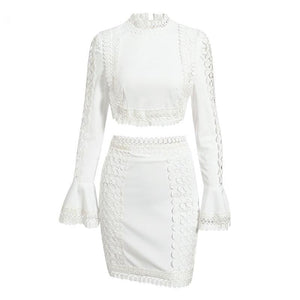 Tessa Two Piece Outfit - White