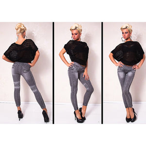 Denim Look Legging