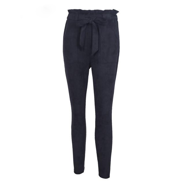 Slim Fit Capris Female pants - Blue Belle Alley