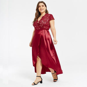 Satin summer dresses - Blue Belle Alley