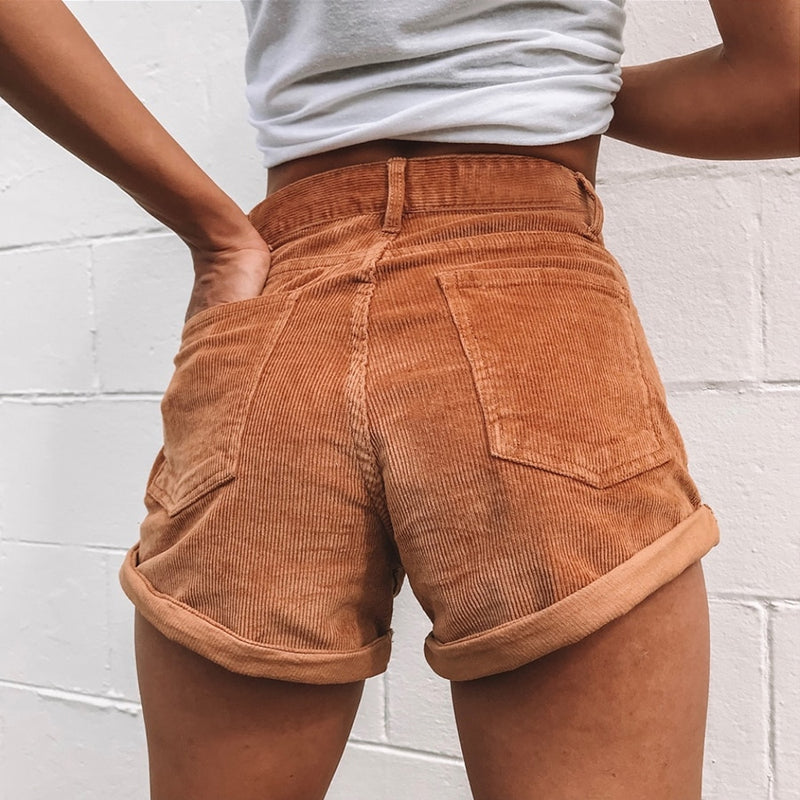 Denim summer shorts - Blue Belle Alley