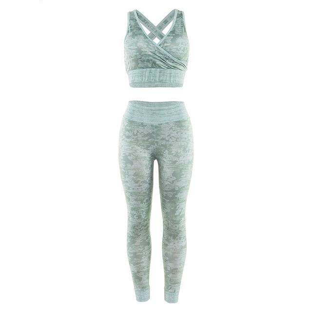 Two piece sportswear - Blue Belle Alley
