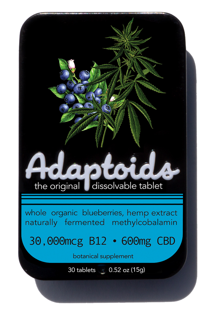 Organic Blueberry CBD Vitamin B12