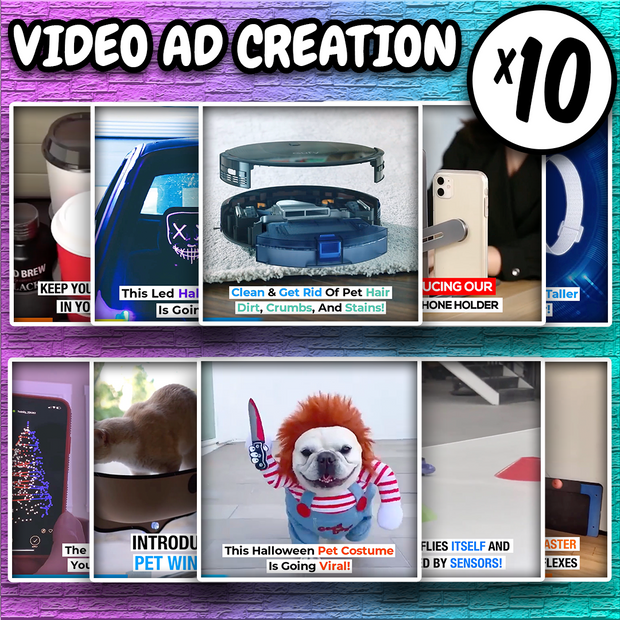 Video Ad Creation (10 Ads)