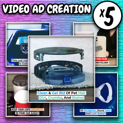Video Ad Creation (5 Ads)
