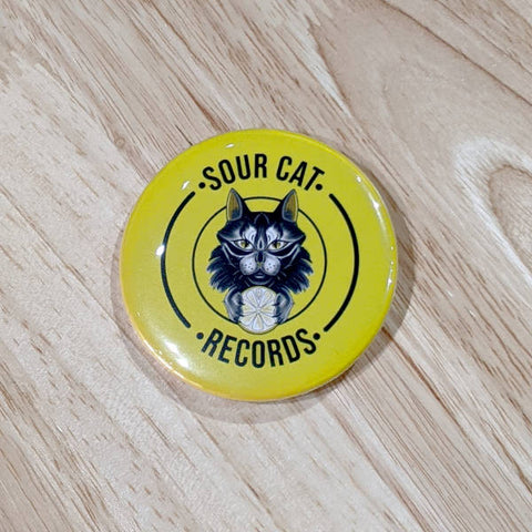 Sour Cat Pin