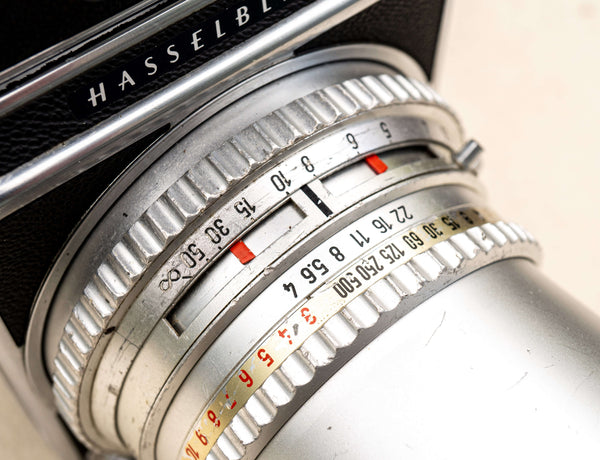 Hasselblad 500 C/M with Carl Zeiss 50mm F/4.0
