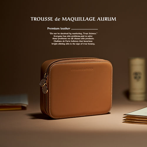 TROUSSE de MAQUILLAGE AURUM (가죽 클러치)