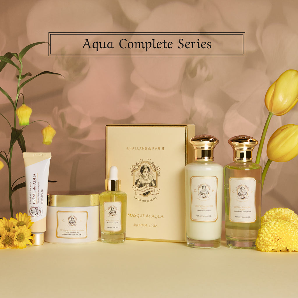 (50% off) AQUA COMPLETE SERIES+Pads (Deep Hydration) - Challans de Paris