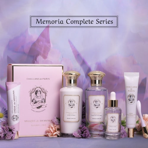 (50% off) MEMORIA COMPLETE SERIES (Wrinkle Care) + Eye Cream - Challans de Paris