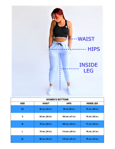 Women's Bottoms Size Guide