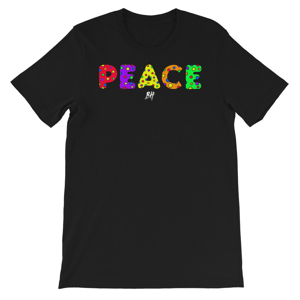 """Peace"" Short-Sleeve T-Shirt"