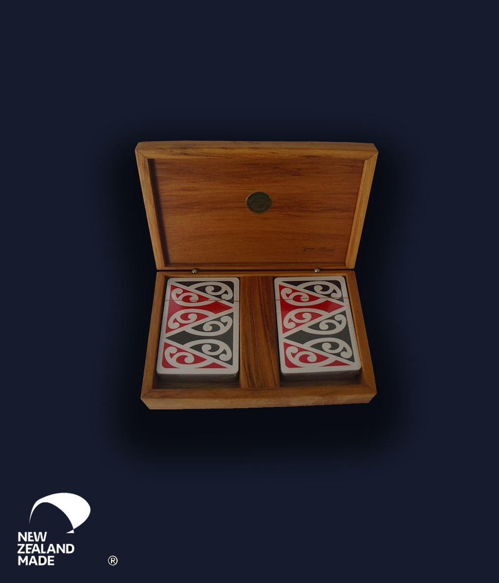 Rimu Playing Card Box