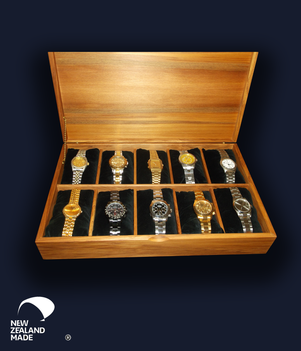 Rimu Watch Box 10