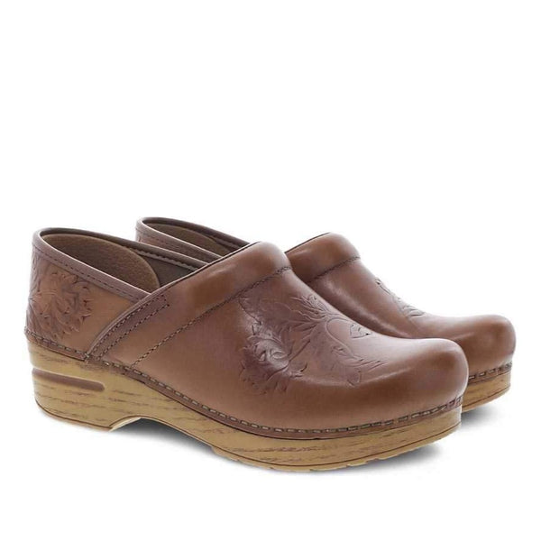 Dansko Embrossed Pro Burnished Calf