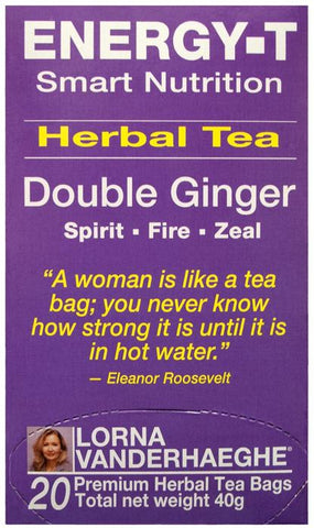 Lorna Vanderhaeghe Energy-T Herbal Tea