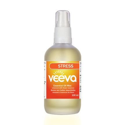 Essential Oil Mist, enhanced with flower essences - Stress 100 ml