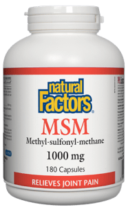 Natural Factors MSM 1000mg 180C