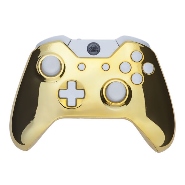 Chrome Gold Xbox One GetGripped Controller Xbox 360 Controller Designs Gold