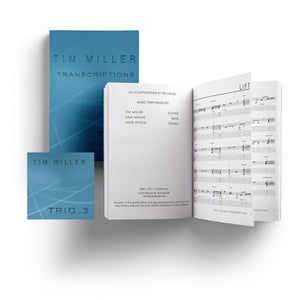 Tim Miller Trio vol 3 Transcriptions Ebook + Album mp3 Download