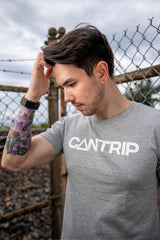 Everyday Magic Tee (Gray) - CANTRIP BRAND