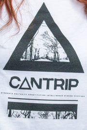 Cover Bonus Crop Long Sleeve Tee - Cantrip Brand