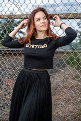 Everyday Magic Crop Long Sleeve Tee - Cantrip Brand