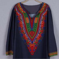 African Men's New Fashion Long Sleeve T-shirt