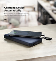 Cable Portable Charger External Battery Power-Bank For iPhone X7, Samsung S9, For USB iPhone