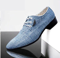 British Fashion Men Wedding, Business office footwear shoes