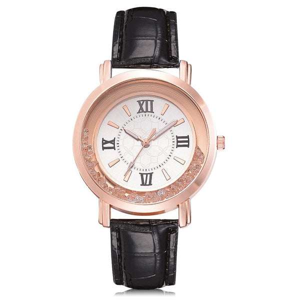 New ladies leather bracelet wristwatch
