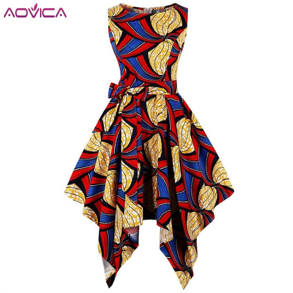 Africa Dress For Women - Asymmetrical Middle East Dashiki Dresses
