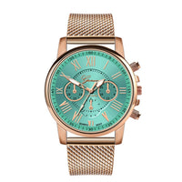 Women Luxury Quartz Leather Band Wristwatch