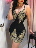 New Ladies Body-con Evening Party Mini Short Dress