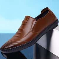 Spring and Autumn New Soft Skin Leather Shoes