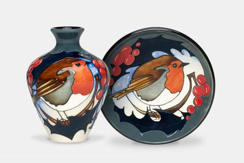 Moorcroft Brave Sir Robin Collection