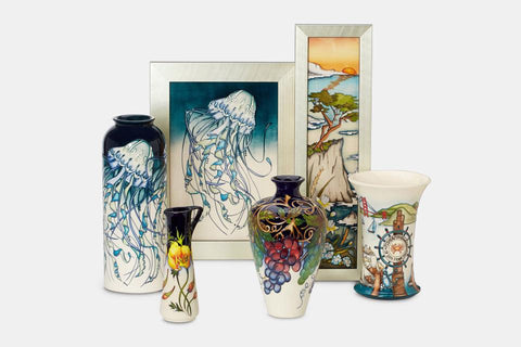 Moorcroft California Dreaming Collection