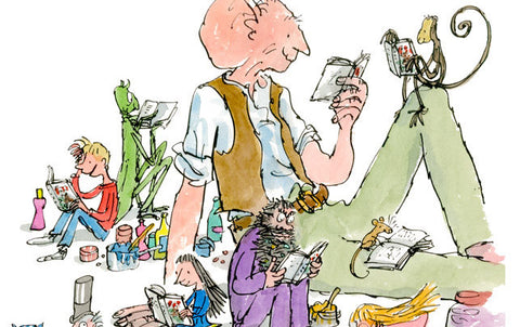 Quentin Blake Illustrations for Roald Dahl